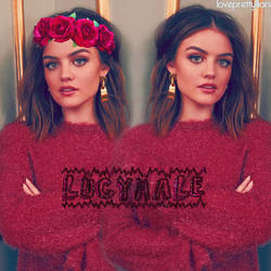 lucy hale by ladiesglamour