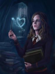 Love is ? :Hermione granger by CHEER--UP