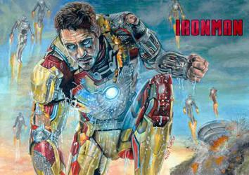 Iron Man by Sianypantsart