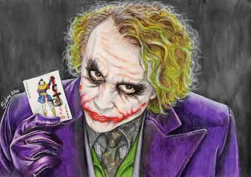 Joker by Sianypantsart