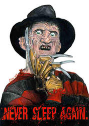 Freddy Kruger by Sianypantsart