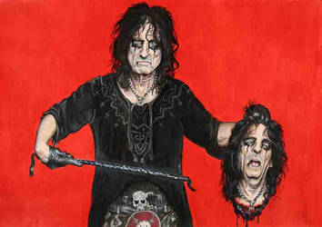 Alice Cooper by Sianypantsart