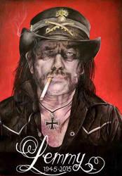 Lemmy Motorhead by Sianypantsart
