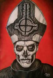 Papa Ghost by Sianypantsart