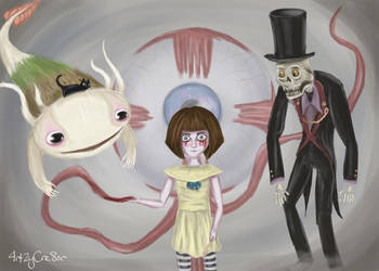Fran Bow by 4rt2yCre8or