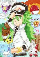 ++Pokemon Trainer N++ by angel-of-time