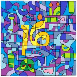 Happy 16th DeviantART! by Nessie905