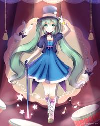 Hatsune Miku Magical Mirai by Pokkiu
