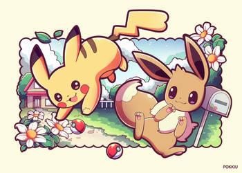 Pokemon Lets Go by Pokkiu
