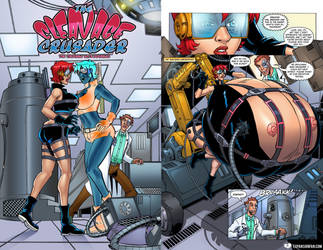 The Cleavage Crusader 5: The Trouble with Doubles by Valeyard-Vince