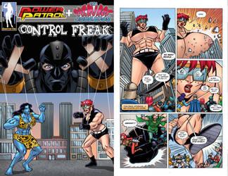 Power Patrol + Cleavage Crusader Crossover Special by Valeyard-Vince