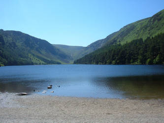 Glendalough upper lake 2 by MOURNING-SKY
