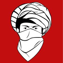 Taliban Face by azumeris