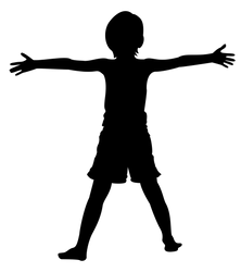 Child Silhouette by azumeris