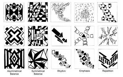 Straight Line Designs by azumeris