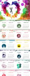 Calendar 2015 by azumeris