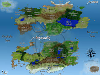 World of Ila Map: Overview by StoneyAshes