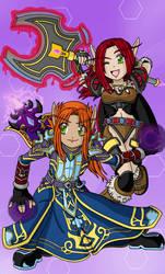 Warcraft : Twilight DPS by geN8hedgehog