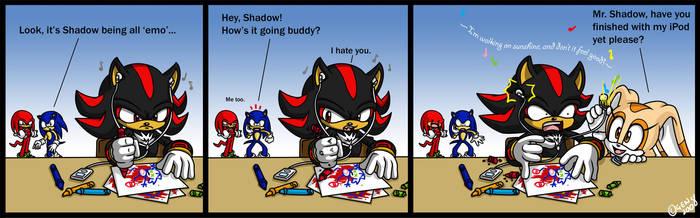 Shadow Music by geN8hedgehog
