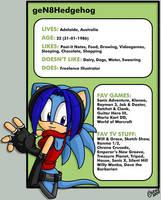 New ID or something by geN8hedgehog