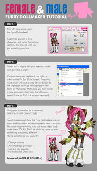 Furry Dollmakers - TUTORIAL by geN8hedgehog