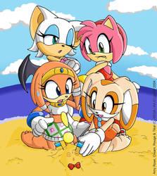 Sonic Gals by geN8hedgehog