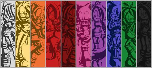 Emotion Panels by geN8hedgehog