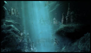 Underwater City by TiffanySketches