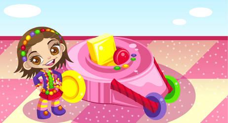 Me as a Sugar Rush by TiffanySketches