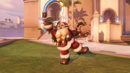 Mini Santa by trilliondollerman