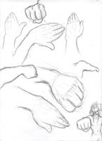 Hands in Perspective by THEAltimate