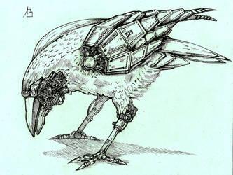 Cyber raven by Sufferst