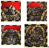 Iron warriors by Sufferst