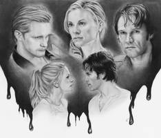 True Blood Love Triangle by dmbgal07