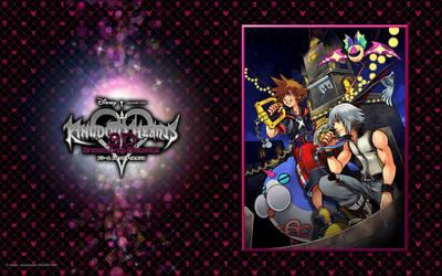 Kingdom Hearts 3D Official Wallpaper 01 (Sora) by kelv93