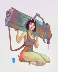 The Gun by chuma