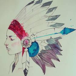 Indian soul by chuma