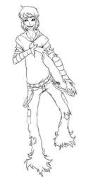 Icky: Matisha lineart by FantomePrince