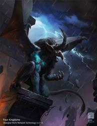 Gargoyle of Scare by 6kart