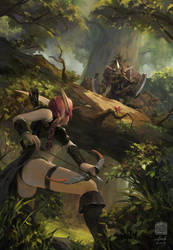 Hogger, the Bane of the Elwynn Forest by 6kart