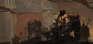 Dawn of The Iron Horde by 6kart