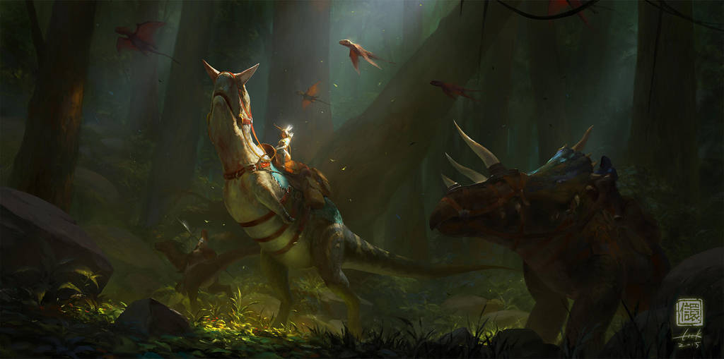 In the Forest by 6kart