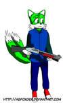 Daniel the Fox by AsFoxger