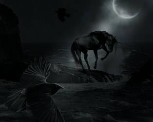 Raven by Kiwiaa
