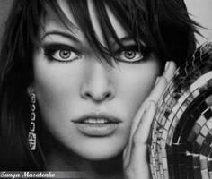 Milla Jovovich by TanyaMusatenko