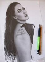 Megan WIP by TanyaMusatenko
