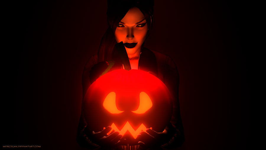 Countdown to Halloween by morcegan