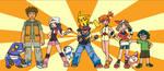 Pokemon Characters by TwihardDigifan