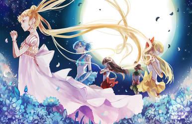 Sailor Moon: Under the Moon-lit Sky by Animus-Rhythm