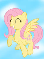 Happy Fluttershy ^_^ by sharkcastic